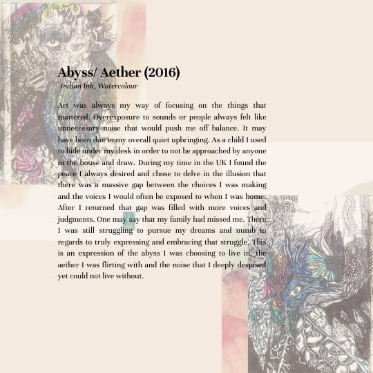 Abyss/Aether (2016) Description