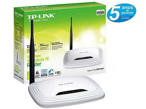 ROTEADOR WIRELESS 150MBPS TL-WR740N