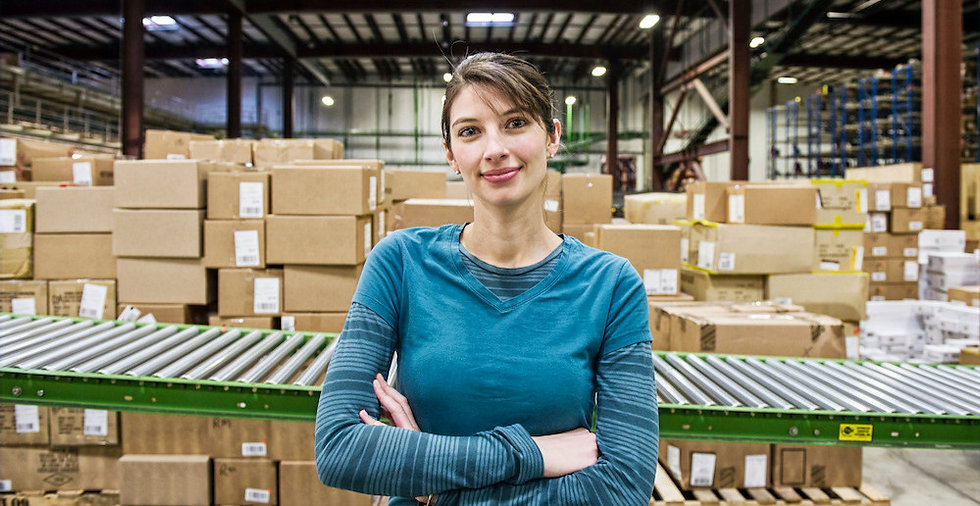 a-caucasian-female-warehouse-worker-in-a