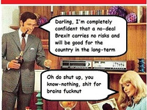 The tedious adventures of Brexit Man