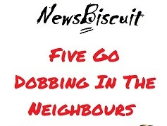 'Five Go Dobbing In The Neighbours' - now available to buy