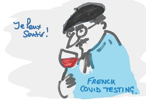 French Covid Testing