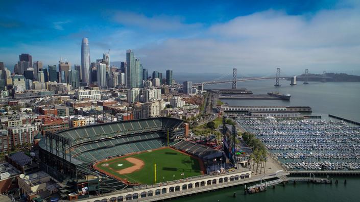 San Francisco and Oracle Park, CA