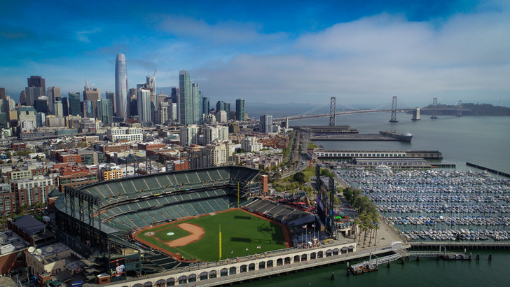 San Francisco and Oracle Park, CA