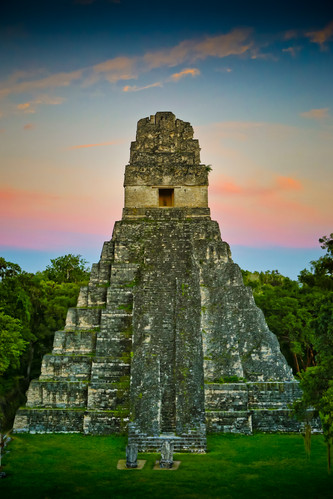 Temple 1.  Tikal, Guatemala