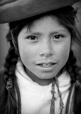 Young Quechua girl, Peru
