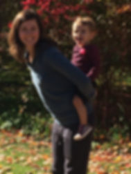 Doula Megan & daughter Adelaide