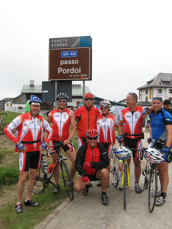 Passo Pordoi - Bike day luglio  2008