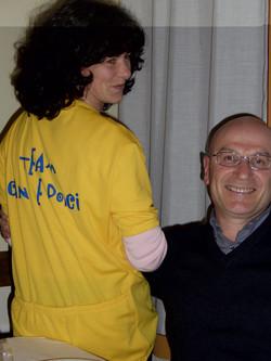 Da Sandrin - Prima maglia Cani e Porci novembre 2004