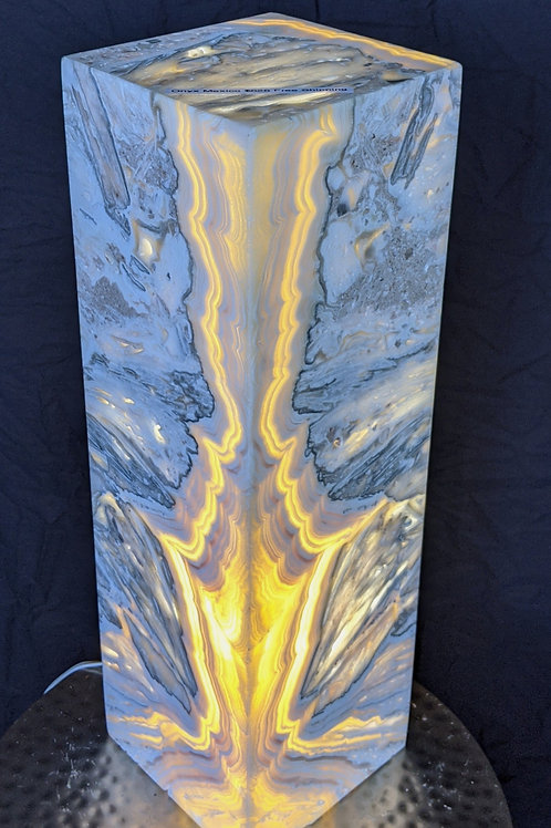 Onyx Lamp from Mexico