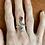 Thumbnail: Amber Snake Ring - Sterling Silver
