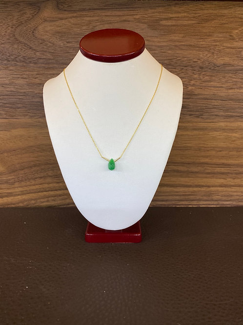 Emerald V Necklace