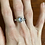 Thumbnail: Rainbow Moonstone Ring - Sterling Silver