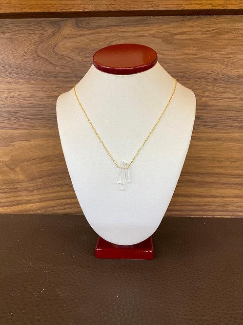 Mini Quartz Crystal Necklace