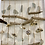 Thumbnail: Oyster shell, sea glass & driftwood wind home/ wall decor