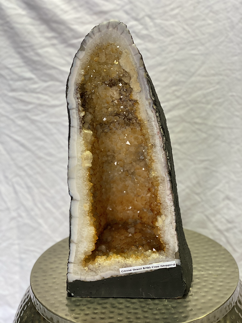 Medium Citrine Cathedral from Brazil