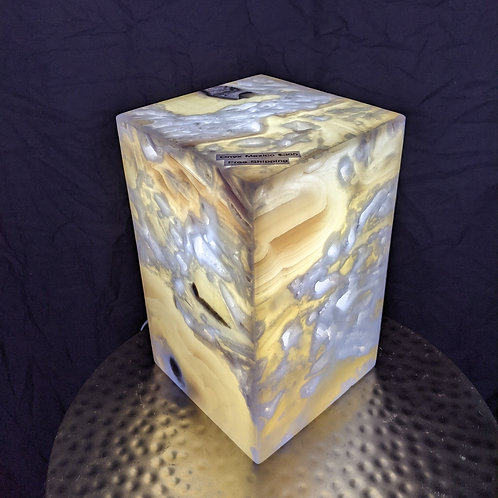 Small Onyx Lamp from Mexico