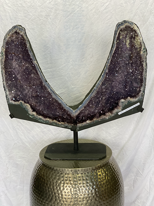 XL Amethyst Specimen on Stand