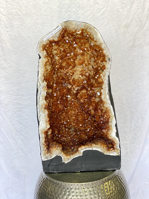 XL Citrine Cathedral from Brazil