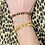 Thumbnail: Blue Chalcedony Chain Bracelet