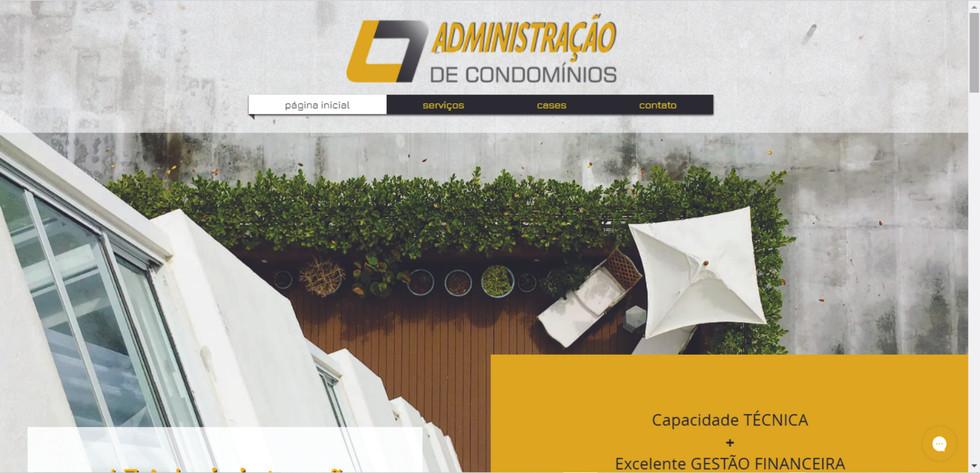 Site L7 Administração de Condomínios - home page- Síndicas Profissionais