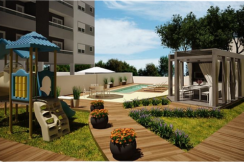 Apartamento 2 dorms -1 suite - ref.: NS011
