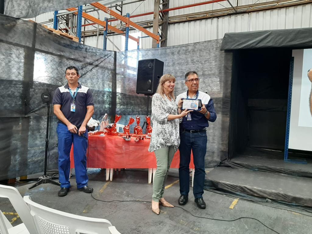 Palestra para a Sipat 2019 do Grupo Moura Baterias