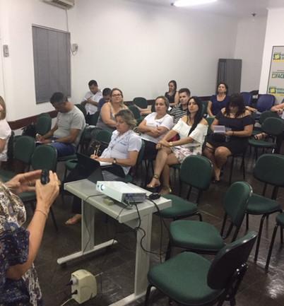 Palestra equipe de vendas Franciosi imóveis dia 13/11/2018