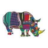 Abstract Rhino