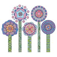 Pompons in Bloom