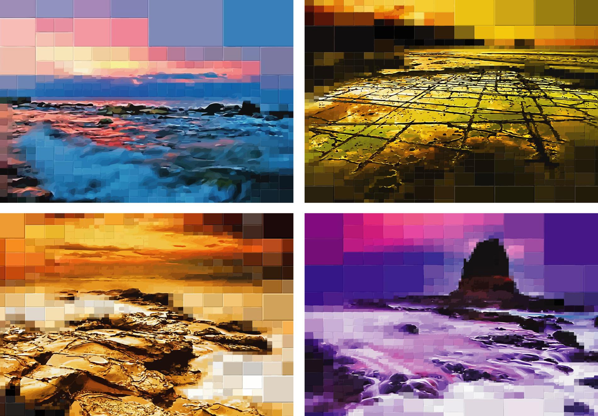 8-Bit Seascapes