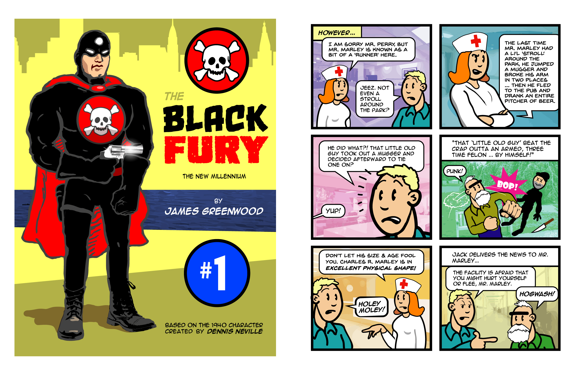 Black Fury Comic Book