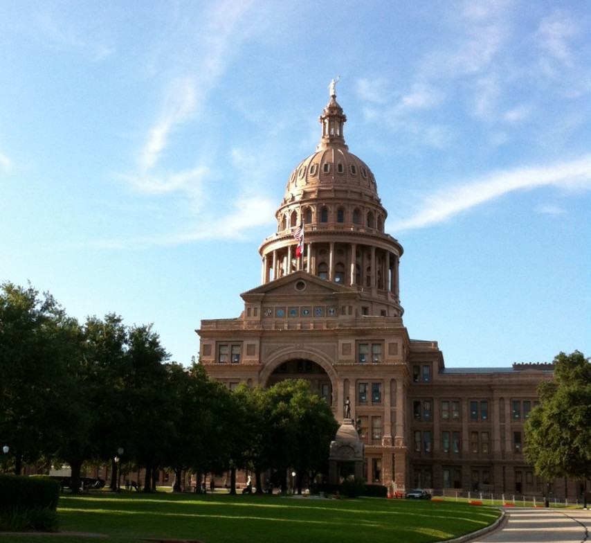 The Texas State Capitol Building in Austin, home of the 2016 NF Conference and Forum