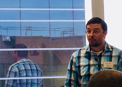 Skyler Moots speaking on behalf of NF Tennessee