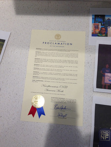 Governor Haslam's Declaration of May as NF Awareness Month