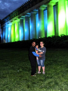 Blue and Green for NF