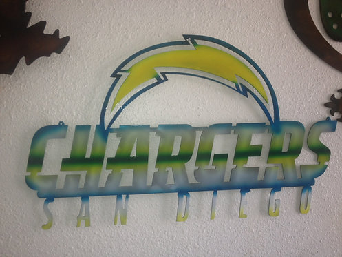 Chargers wall decor
