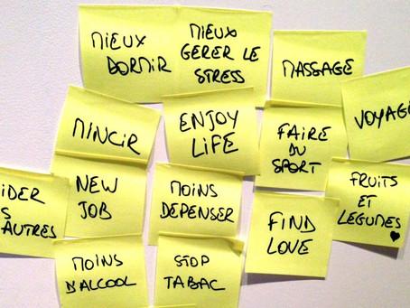 Résolutions - Pourquoi ne tenons-nous pas nos résolutions du nouvel an ?