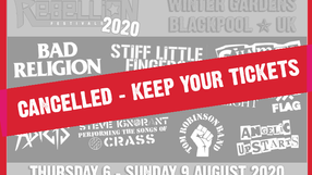Another One Bites The Dust - Rebellion Festival Cancelled