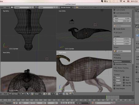 3D Modeling – Blender