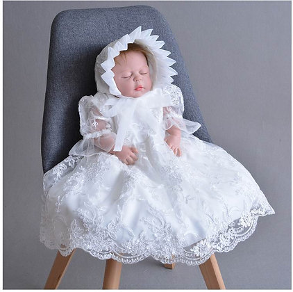 Christening Baby Girls Lace Long Length dress