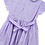 Thumbnail: Smocked - Light purple gingham dress