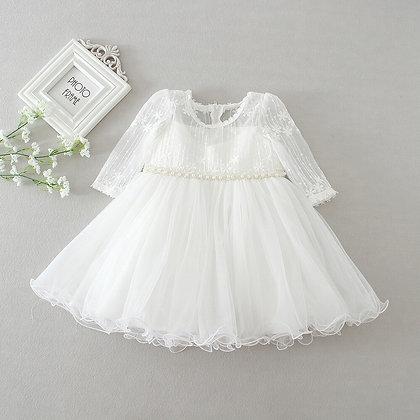 Christening Birthday Prom Dress for Baby Girls