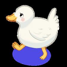 cute duck drawing
