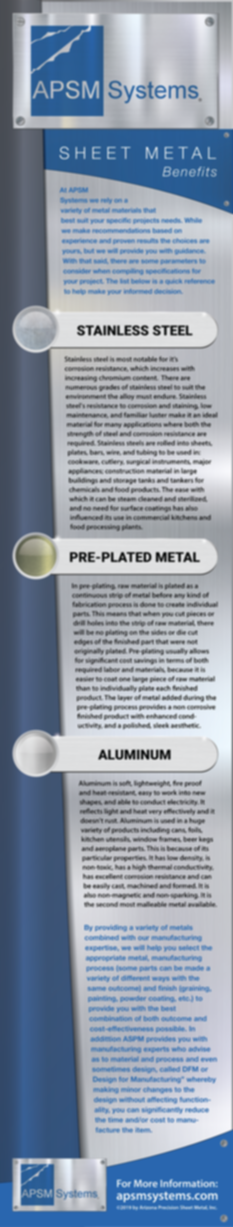 Sheet Metal Types - APSM Systems Infogra