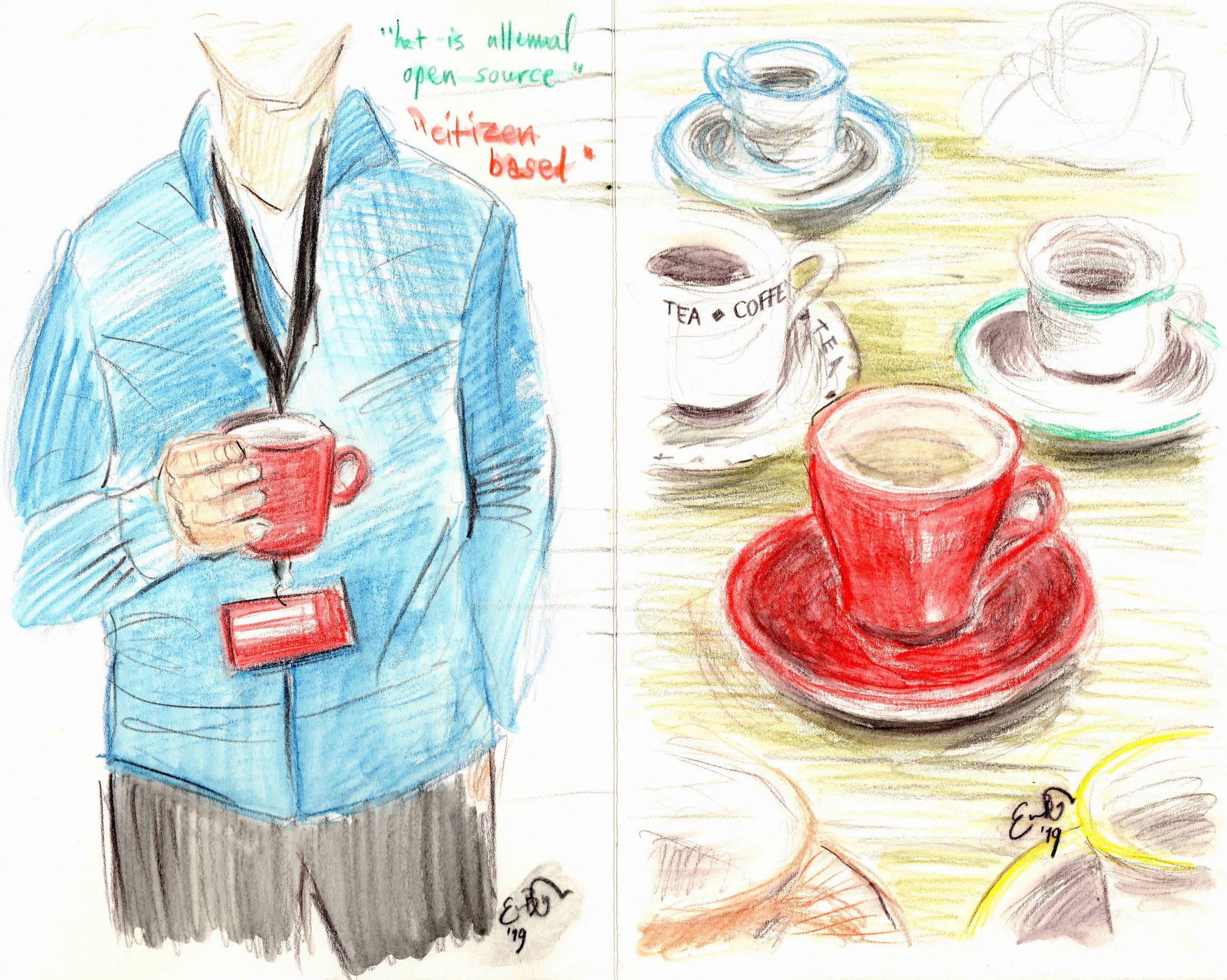 Find your cup mate, TEDxTilburg (c) Emma Bijloos 2019
