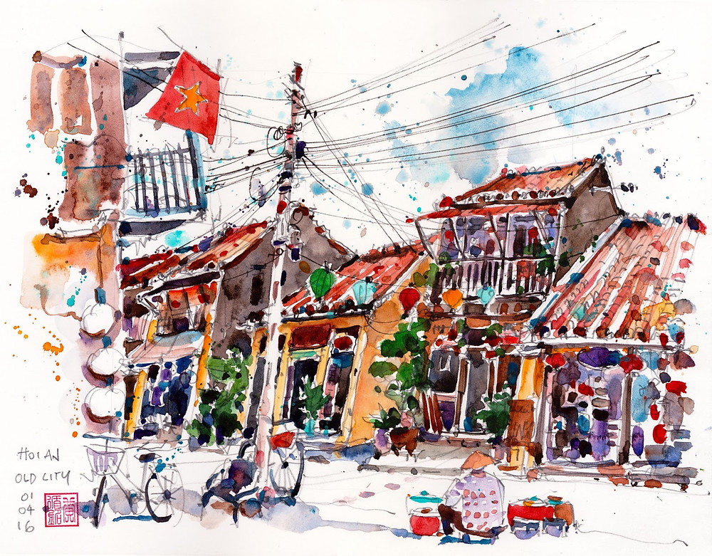 Paul Wang, 'Hoi An Old City in Vietnam'