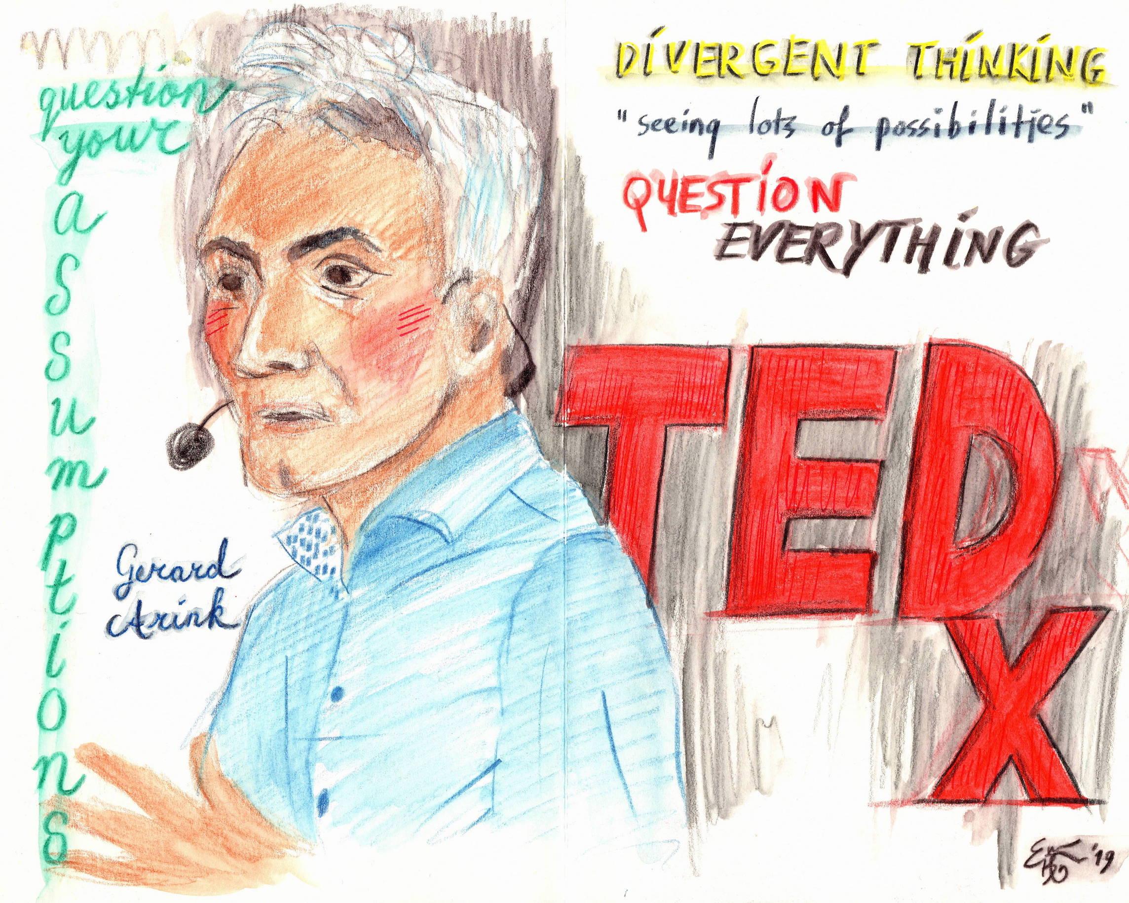 Gerard Arink, TEDxTilburg (c) Emma Bijloos 2019