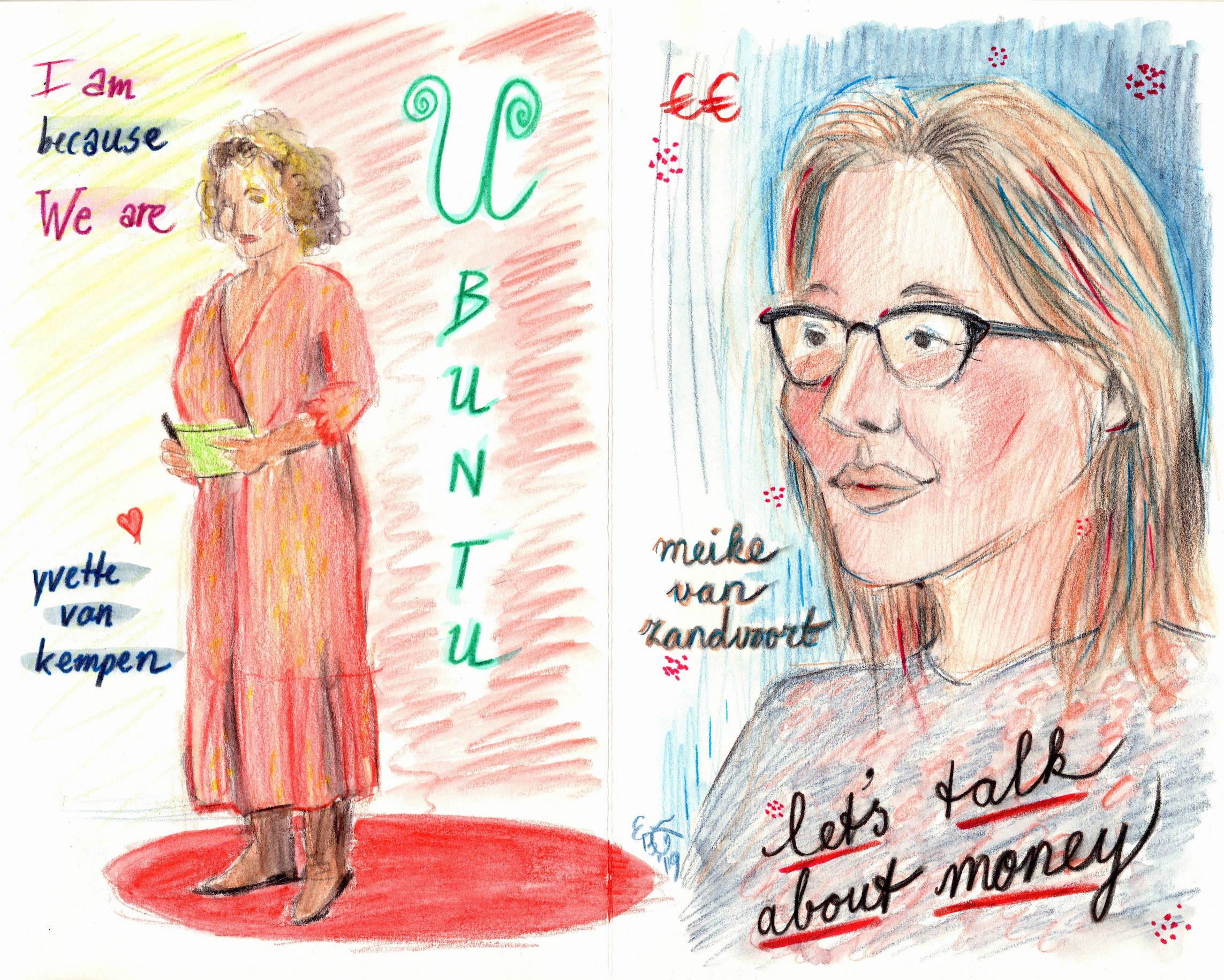 Yvette van Kempen & Meike van Zandvoort, TEDxTilburg, 6 April 2019 (c) Emma Bijloos