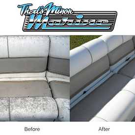 boat seat repair, upholstery